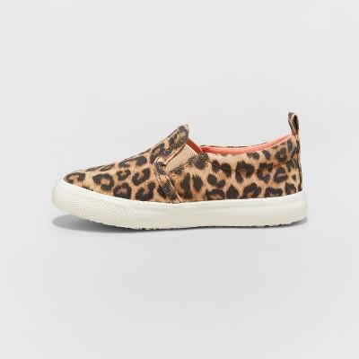 Girls Sneakers Leopard Print Sneaker for girls Kids Velcro Sneaker Blush Brown Animal Print Kids Shoes