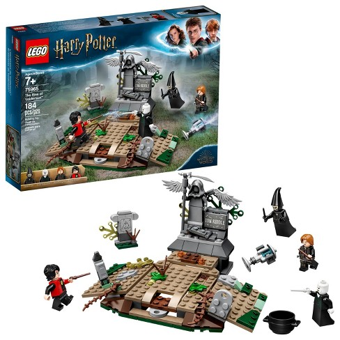 LEGO Harry Potter The Rise of Voldemort 75965 Wizard Minifigure Battle Action Building Set  184pc - image 1 of 4