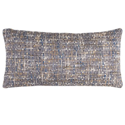Striped Throw Pillow Navy - Rizzy Home