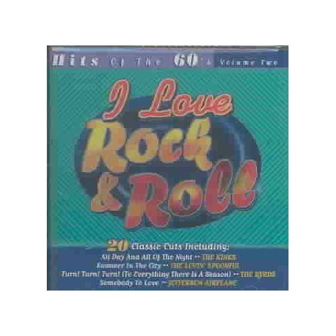 Various Artists - I Love Rock & Roll:Hits Of The 60's (CD)