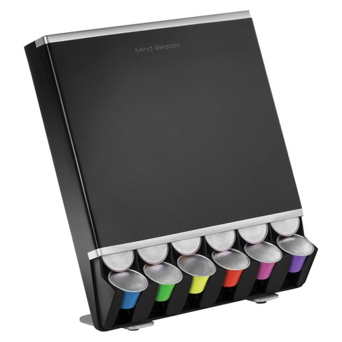 Mind Reader Nespresso Capsule Dispenser 42 Capacity - Black - image 1 of 4