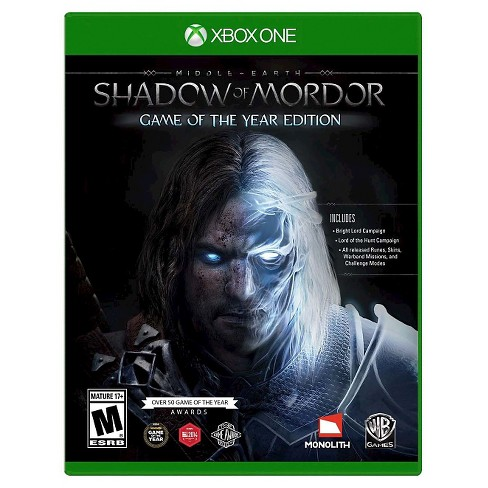 Middle Earth: Shadow of Mordor Game of the Year Xbox One - image 1 of 1