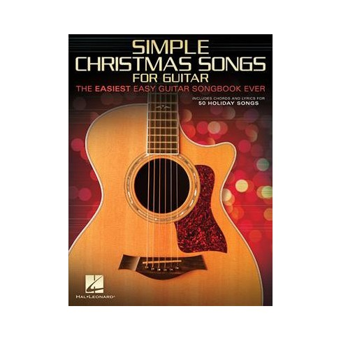about this item - Easy Christmas Songs Guitar