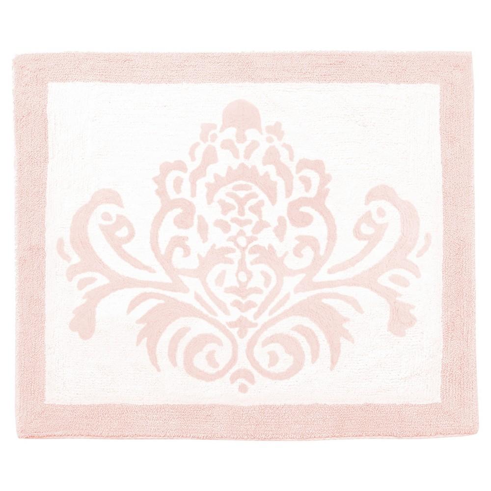 Pink & White Amelia Rug (2'x3') - Sweet Jojo Designs