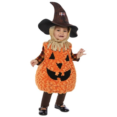 Kids' Scarecrow Halloween Costume S - image 1 of 1