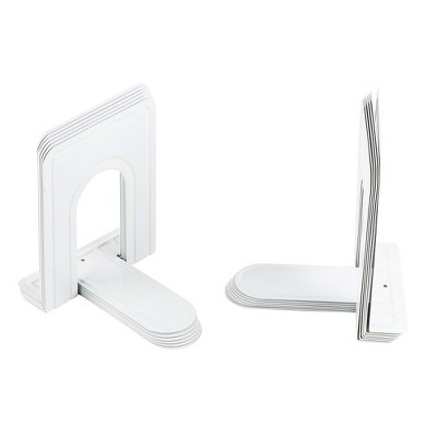 Heavy Duty Bookends for Shelves (12 Pieces)