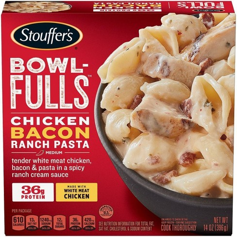 Stouffers Bowlfuls Frozen Chicken Bacon Ranch Bowl - 14oz - image 1 of 4