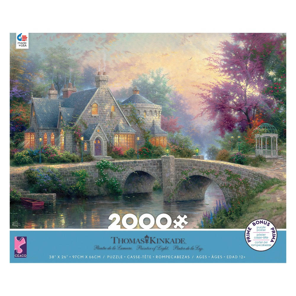 Ceaco 2000pc Thomas Kinkade Puzzle
