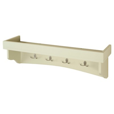 36  Coat Hooks with Tray Sand - Alaterre Furniture®