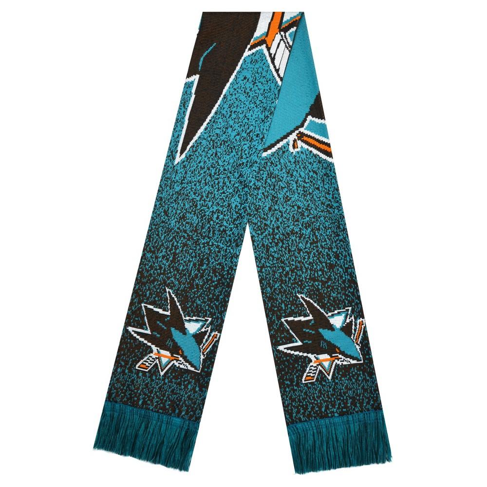 NHL San Jose Sharks Big Logo Scarf, Women's