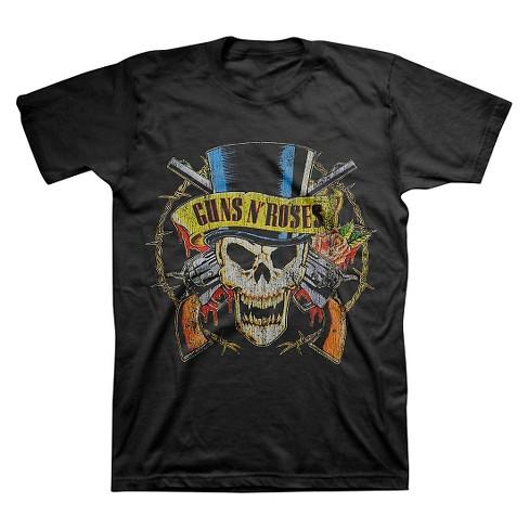 14bc102e46e Men s Guns N  Roses® T-Shirt - Black   Target