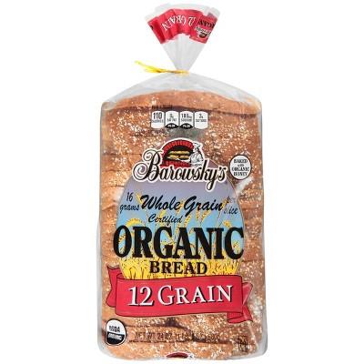 Barowsky Organic Bread 12 Grain - 24oz