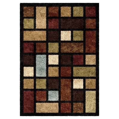 Solid Woven Area Rug - (5'3 X7'6 )- Orian