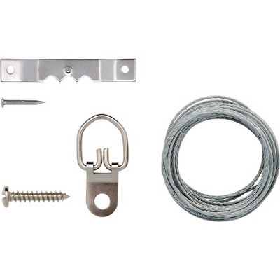Arrow 12pc Wire or Saw Tooth Picture Hanging Kit