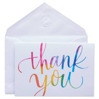50ct Thank You Carlton Cards with Envelopes