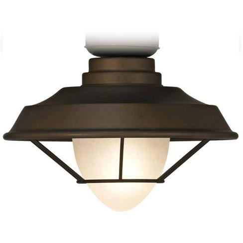 Universal Lighting And Decor Bronze Outdoor Led Ceiling Fan Light Kit Target