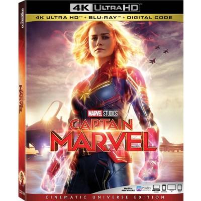 Captain Marvel (4K/UHD + Blu-Ray + Digital)