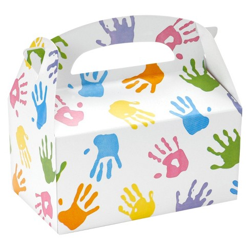 8 ct Handprint Favor Boxes - image 1 of 1
