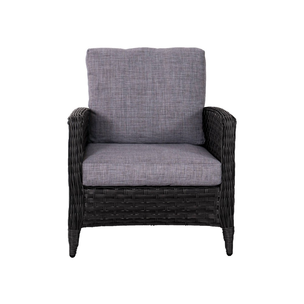 Parkview Chair Gray - CorLiving