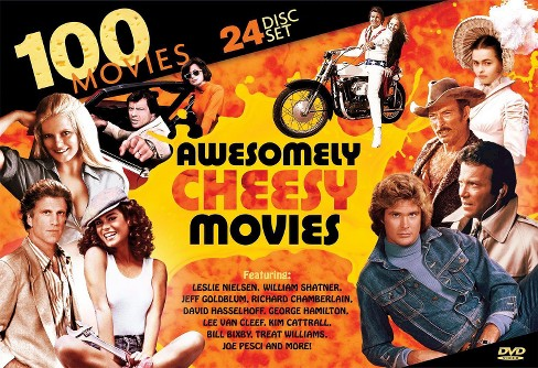 100 Awesomely Cheesy Movies [24 Discs] - image 1 of 1