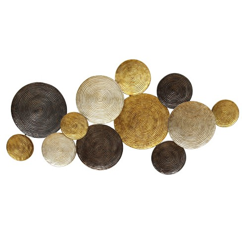 Multi Circles Wall Decor - Stratton Home Decor - image 1 of 2