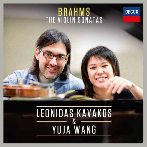 Johannes; Leonidas Kavakos [Violin]; Yuja Wang [Piano] Brahms - Brahms Violin Sonatas (CD) - image 1 of 1
