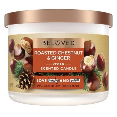 Beloved Roasted Chestnuts & Ginger Candle - 11.5oz