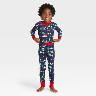 Toddler Holiday Gnome Print Matching Family Pajama Set - Wondershop™ Navy