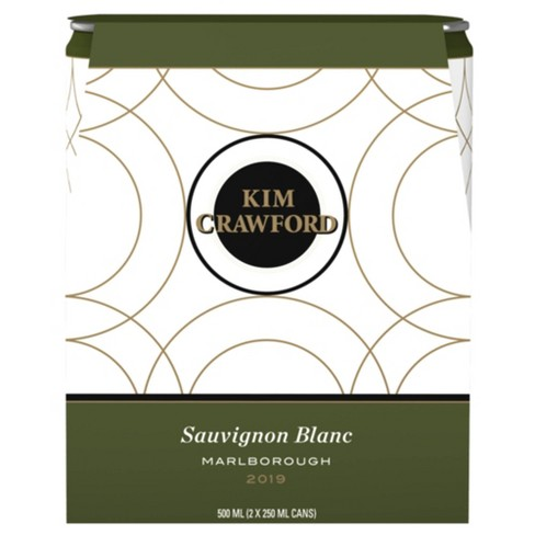 Kim Crawford Sauvignon Blanc White Wine - 2pk/250ml Cans - image 1 of 4