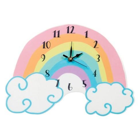 Trend Lab Rainbow Wall Clocks - Rainbow - image 1 of 2