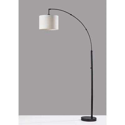Bowery Arc Lamp Black - Adesso