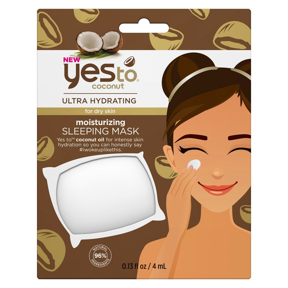 Image of Yes To Coconut Moisturizing Sleeping Face Mask - .13oz