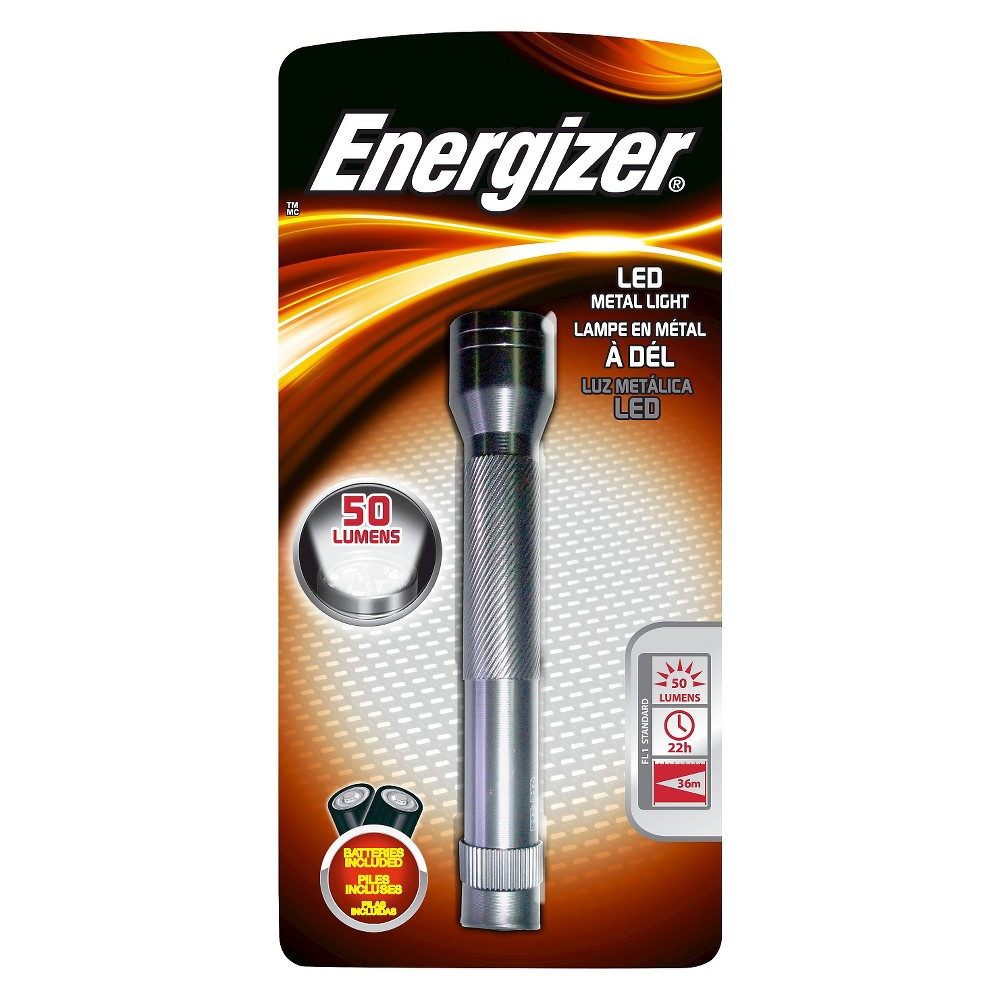 Energizer Enr Led FL Metal 2AA, Flashlights