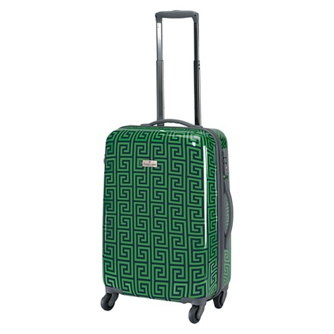 "Happy Chic by Jonathan Adler 21"" Hardside Carry On Spinner Suitcase - Navy/Green - image 1 of 5"