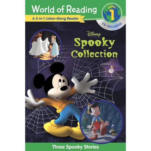 World of Reading Disney's Spooky Collection 3-In-1 Listen-Along Reader (Level 1 Reader) - (Paperback) - image 1 of 1