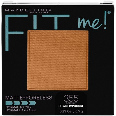 Maybelline Fit Me Matte + Poreless Pressed Face Powder Makeup - 0.29oz