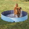 Cool Pup Splash About 63 Inch Diameter 12 Inches Tall Collapsible PVC Outdoor Dog Pet Swimming Pool, 119.25 Gallon, Blue - image 4 of 4