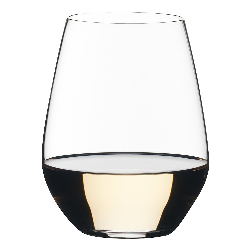 Image of Riedel Vivant 15.1oz Chardonnay Stemless Wine Glasses, Clear