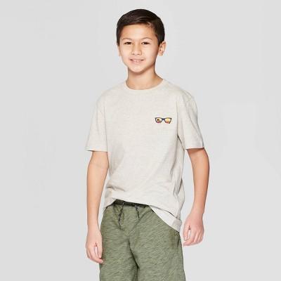355ae68e3ef9c2 Boys  Sunglasses Short Sleeve Graphic T-Shirt - Cat   Jack™ Gray