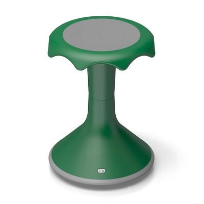 "VS America Hokki Stool Flexible Ergonomic Seating - 18"" Green"