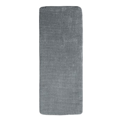 Jacquard Memory Foam Extra Long Bath Mat - Yorkshire Home