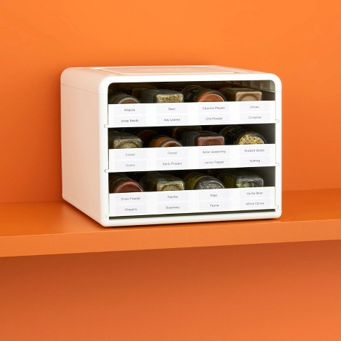 YouCopia SpiceStack Adjustable Spice Organizer White - image 1 of 4