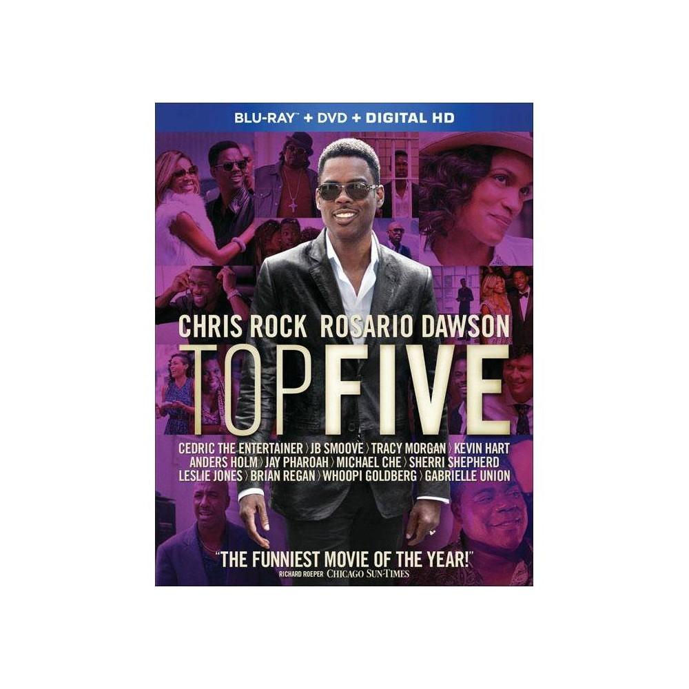 Top Five Blu Ray