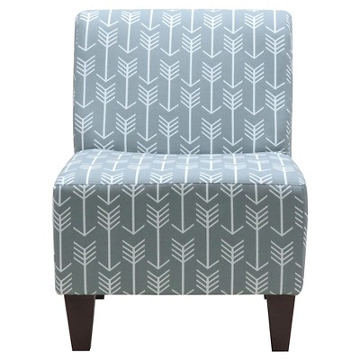 Penelope Armless Slipper Chair   Fox Hill Trading