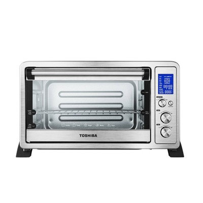 Toshiba Digital Toaster Oven - Silver