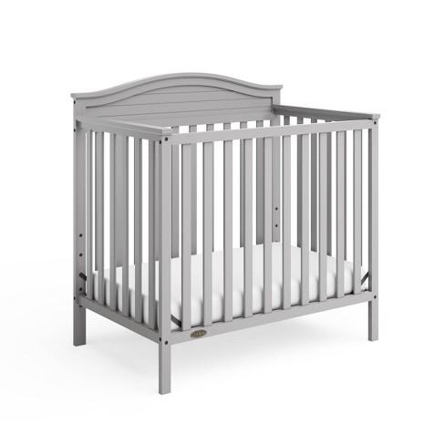 Graco Stella 4-in-1 Convertible Mini Crib with Bonus Mattress - image 1 of 4