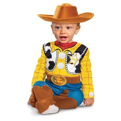 Toddler Deluxe Disney Toy Story Woody Halloween Costume Jumpsuit