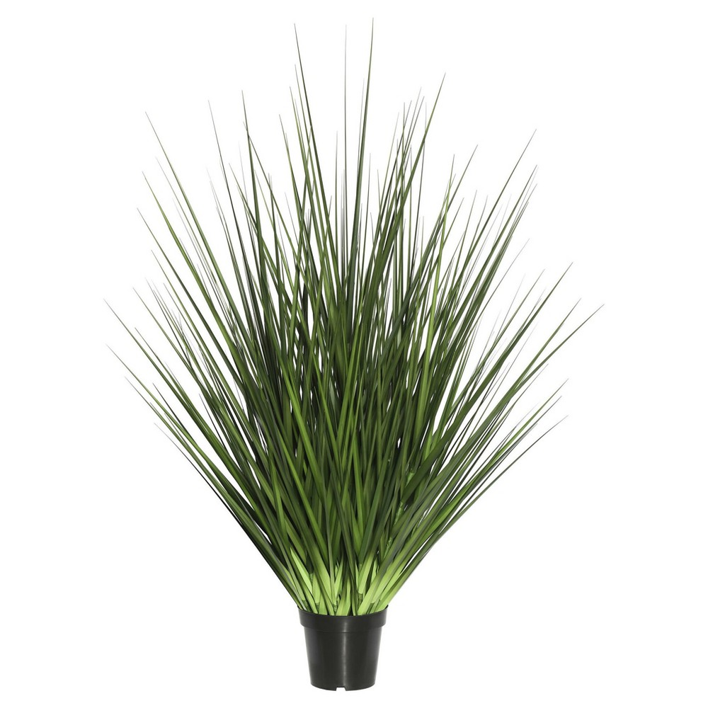 Artificial Extra Full Grass Potted (36) Green - Vickerman