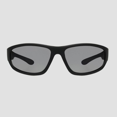 Men's Wrap Driving Sport Sunglasses - Foster Grant Black