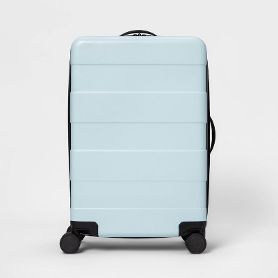"""Hardside 25"""" Spinner Suitcase Muddy Aqua - Made By Design™"""